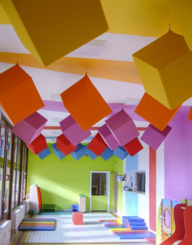 Akoestische oplossing kinderdagverblijf